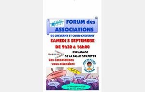 Forum des Associations de l'Etoile Sportive de Cheverny & Cour-Cheverny